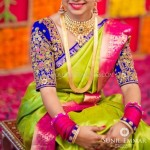 Bride in South Indian Jewellery