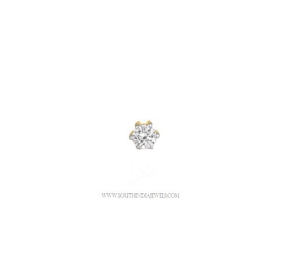 Tanishq Diamond Nose Pin Prices 1000
