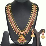 Artificial Necklace Set with Matching Earrings