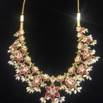 Short Gold Guttapusalu Necklace Design