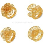 Gold Ring Designs for Female