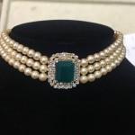 Original Pearl Choker Necklace Design