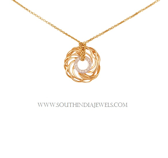Tanishq Lightweight Gold Necklace Designs with Price