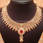Beautiful Uncut Diamond Choker Necklace