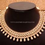 Uncut Diamond Choker Necklace