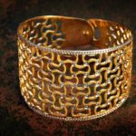 Big Gold Cuff From Rakesh Jewellers