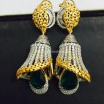 Designer Diamond Jhumka Model
