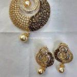 Designer Pendant Set & Earrings