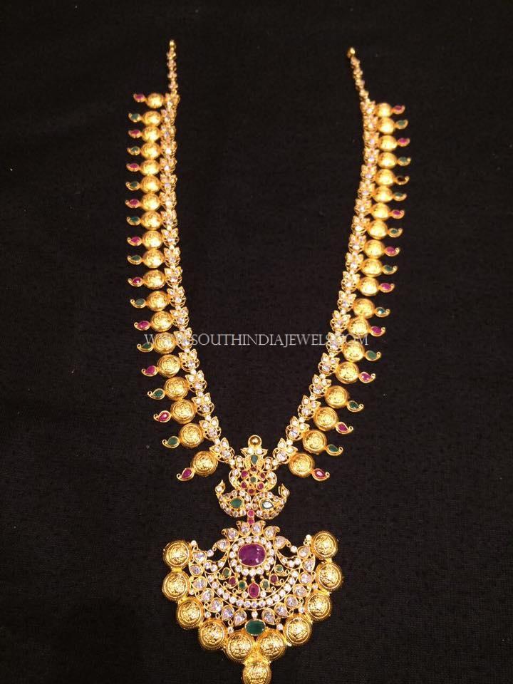 Gold Haram Designs in 40 Grams