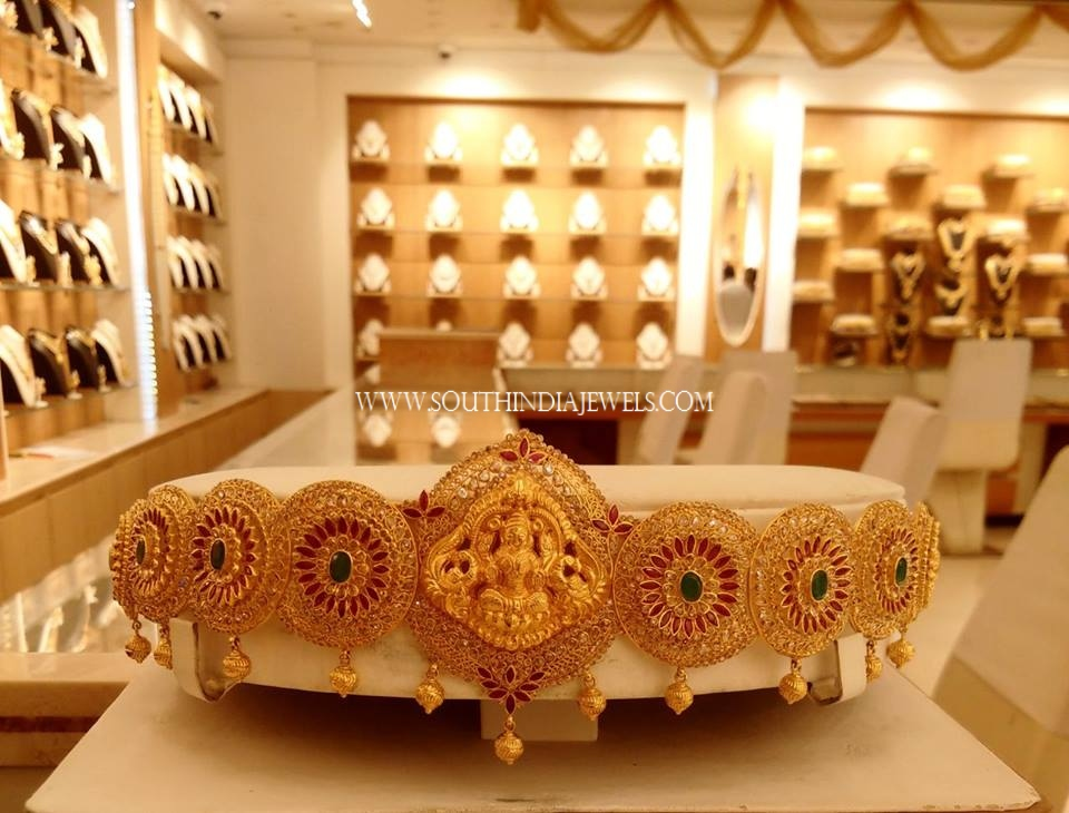Gold Lakshmi Vadanam From NAJ