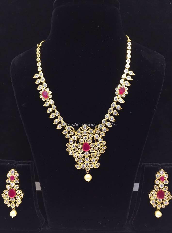 Imitation Pachi Necklace Set