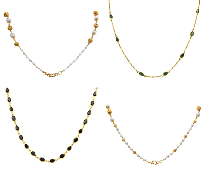 Joyalukkas Gold Chain Models South India Jewels