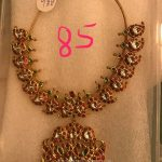 85 Grams Gold Antique Necklace