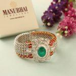 Diamond Bracelet From Manubhai Jewellers