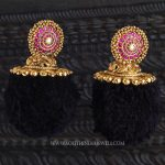 Gold Antique Ruby Earrings from Creations Jewellery