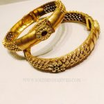 Gold Designer Bangles From K.N Jewellers