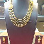 60 Grams Multilayer Gold Necklace Set