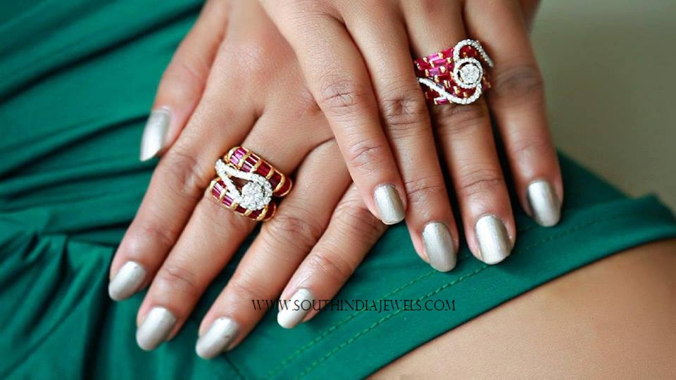 Ruby Rings from Manubhai Jewellers