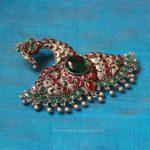 Silver  Peacock Kemp Pendant