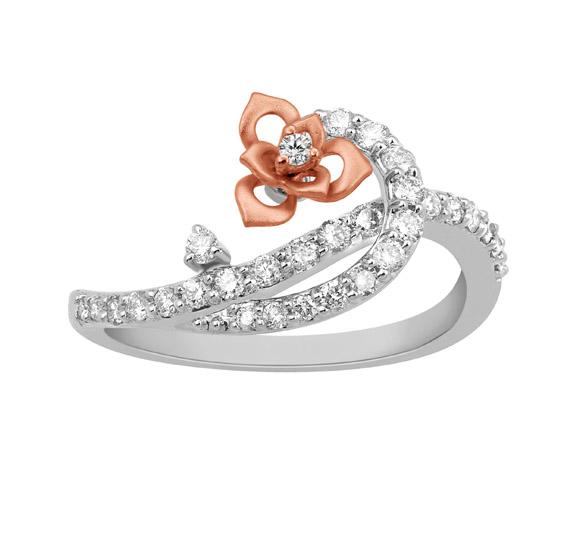 Diamond Rings Tanishq