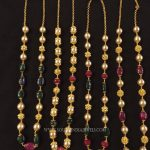 Gold Pearl Mala 2017 Collections