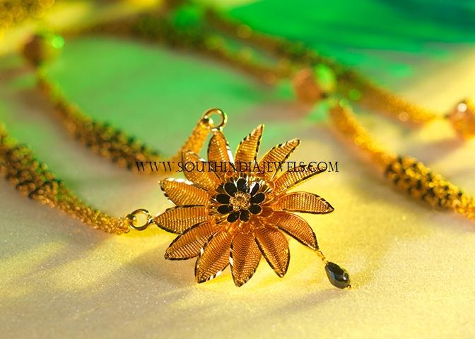 mangalsutra pendant designs in gold