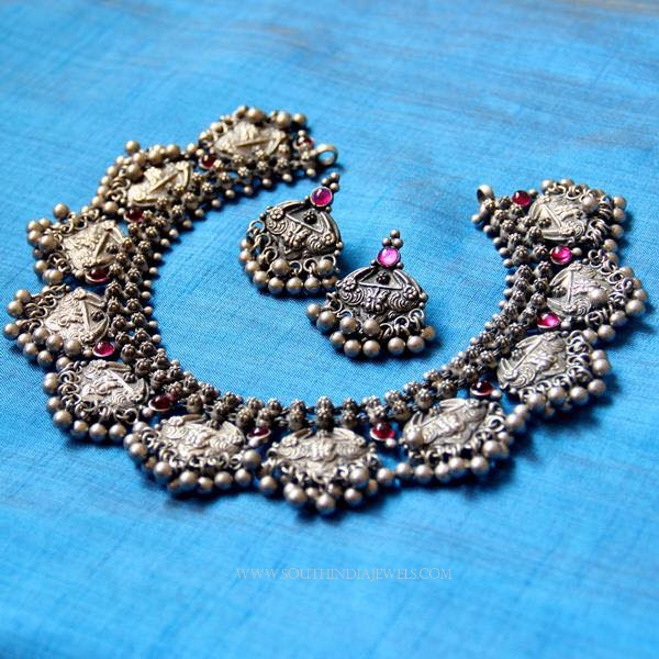 Silver Kemp Choker Necklace