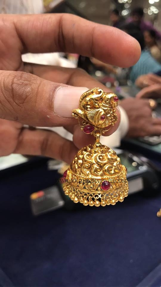 32 Grams Gold Jhumki