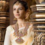 Bridal Gold Ruby Jewellery Set