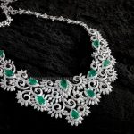 Diamond Emerald Necklace From Aabushan Jewellery