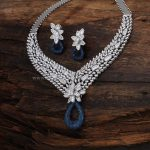 Designer Diamond Necklace With Price Details