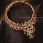 Gold Antique Mango Mala From Aabushan Jewellery