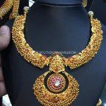 Latest Model Antique Temple Necklace