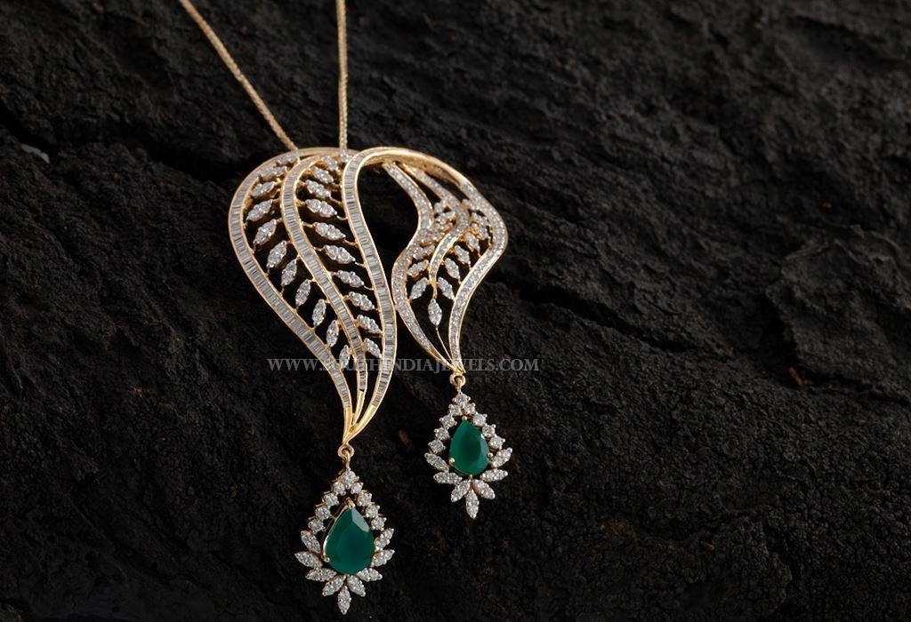 Diamond Pendant For Chains