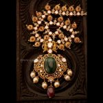 Gold Antique Haram With Price