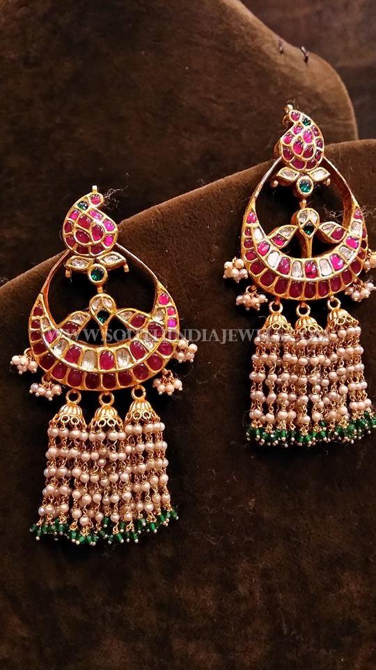 Designer Gold Antique Kemp Earrings
