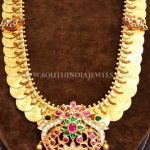 Gold Antique Kemp Kasumalai Necklace