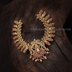 Gold Antique Necklace With Price Details
