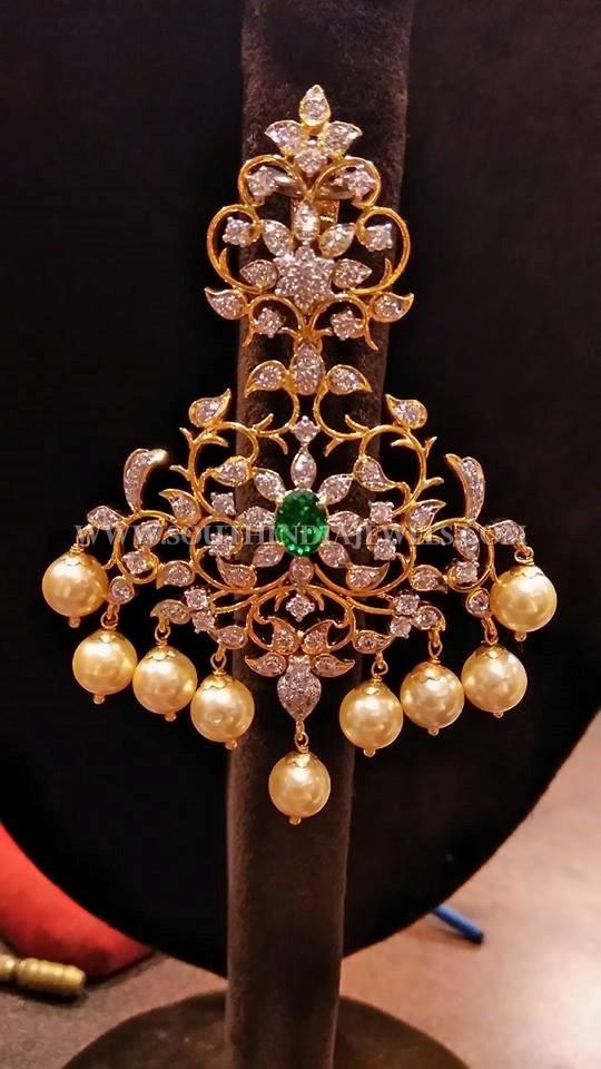 Big Gold Diamond Earrings