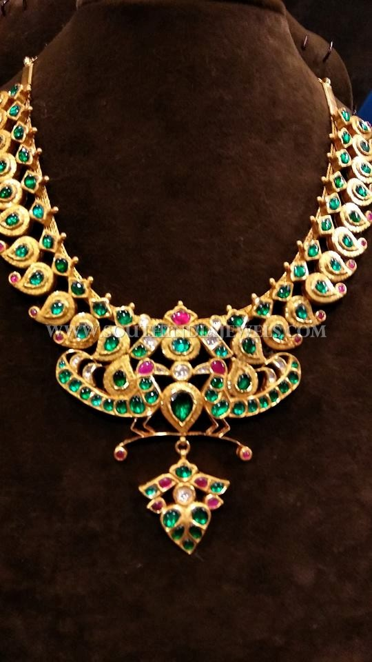 Gold Green Kemp Necklace Design