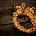 Gold Antique Kada Bangle With Price
