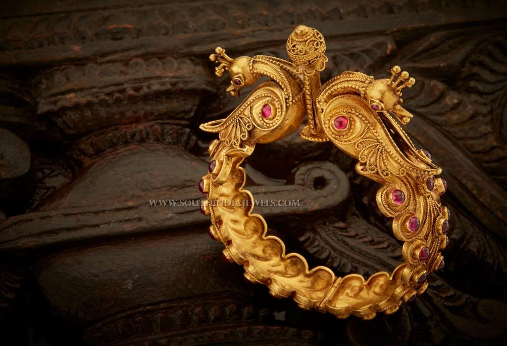 Gold Kada Bangle With Price