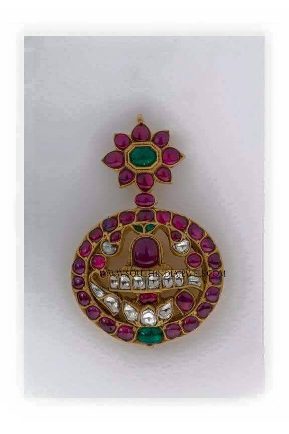 Gold Antique Lord Shiva Pendant
