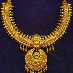 New Antique Necklace Model From S.K Jewels