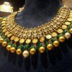 202 Grams Gold Diamond Kasumalai From CMR Jewels