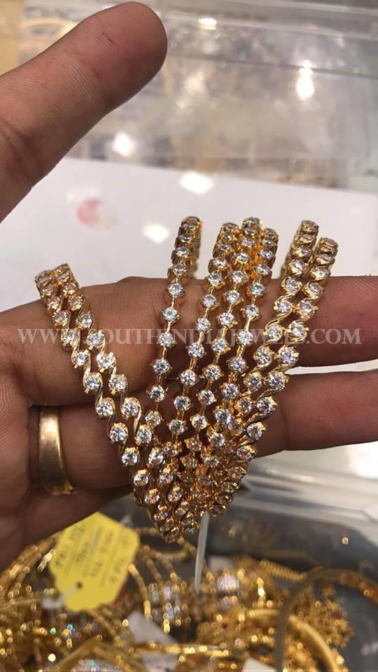 80 Grams Gold Bangles (4 Pairs)