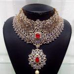 Bridal Diamond Necklace With Belgium Diamonds