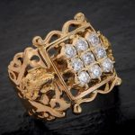 Gold Big Ring For Men From Aabushan Jewellery