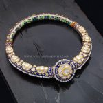 Meenakari Bangles With Diamonds