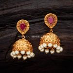 Antique Ruby Earrings From Kushal Fashion Jewellery